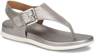 Sofft Leather Thong Sandals - Farlyn