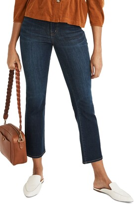 Madewell Cali High Waist Demi Boot Jeans