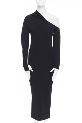 Haider Ackermann Black Synthetic Dresses