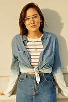 Forever 21 Ombre Denim Shirt