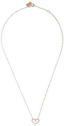 VANRYCKE Rose Gold and Diamond Angie Necklace