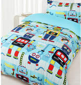 Robot Workshop Glow in the Dark Quilt Cover Set