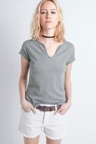 Zadig & Voltaire Tunys Rhinestone Mc T-Shirt