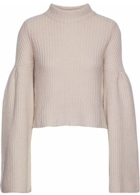 Autumn Cashmere Ribbed-knit Sweater