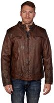 X-Ray Men's XRAY Detailed Faux-Leather Jacket