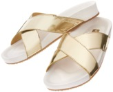 Crazy 8 Metallic Sandals
