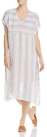 Eileen Fisher Organic Linen Caftan Dress