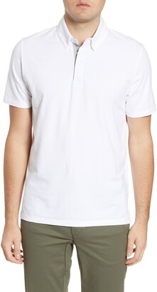 Tommy John Comfort Button-Down Polo