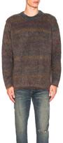 Acne Studios Nikos Pullover Sweater in Blue,Red.