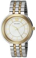 Tory Burch Bailey Bracelet Watch (Gold/Silver - TBW6104) Watches