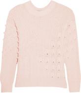 Autumn Cashmere Textured-knit cashmere sweater