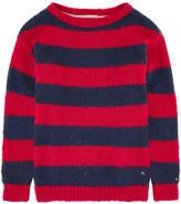 Tommy Hilfiger Striped wool blend sweater