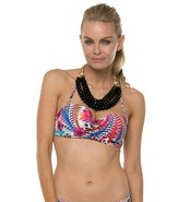 Kenneth Cole Fancy A Flight Bandeau Underwire Bikini Top 7539177