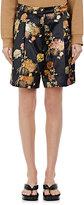Dries Van Noten Women's Patrick Floral Cotton-Blend Shorts-Black, Navy