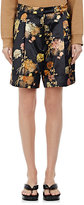 Dries Van Noten Women's Patrick Floral Cotton-Blend Shorts