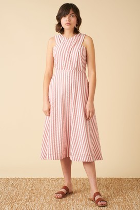 Emily And Fin Seline Dress Riviera Stripe - 8
