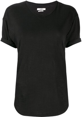 Etoile Isabel Marant slim-fit linen t-shirt