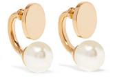 Chloé Darcy Gold-tone Swarovski Pearl Earrings - one size