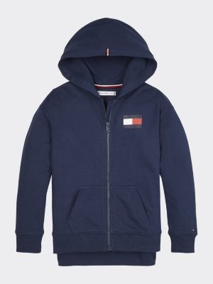 Tommy Hilfiger Essential Sequin Flag Hoody
