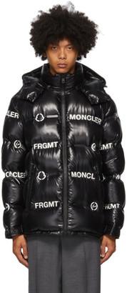 MONCLER GENIUS 7 Moncler Fragment Hiroshi Fujiwara Black Down Mayconne Jacket
