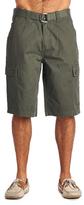 OTB Olive Belted Cargo Shorts