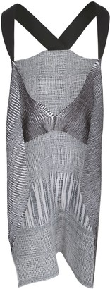Pierantonio Gaspari PierAntonioGaspari Long Pleated Gilet Bicolour