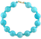 Effy Amazonite (12 and 4mm) Bead Bracelet in 14k Gold