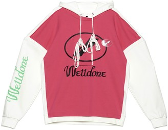 we11done Logo Drawstring Hoodie