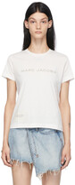Thumbnail for your product : Marc Jacobs White 'The T-Shirt' T-Shirt