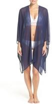 Nordstrom Women's Halogen Chiffon Cover-Up Kimono