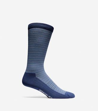 Cole Haan Grand.S Multi-Stripe Crew Socks