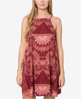 O'Neill Juniors' Dora Printed Cotton Shift Dress, A Macy's Exclusive Style