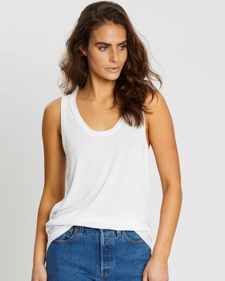 Gap Sleeveless Luxe Tank