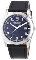 Victorinox Men's Quartz Watch Infantry 241584 with Leather Strap