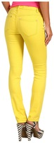 Free People Colored High Rise Skinny Jean in Yellow (Yellow) - Apparel