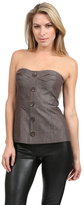 Trina Turk Bustier in Grey