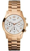 GUESS GUESS? Women's U13578L5 Gold Gold Tone Stainles-Steel Analog Quartz Watch with Gold Dial