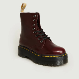 Dr. Martens Bordeaux Synthetic Jadon II Vegan Boots - Synthetic Leather | bordeaux | 37 - Bordeaux