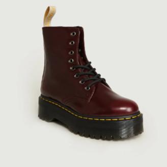 Dr. Martens Bordeaux Synthetic Jadon II Vegan Boots - Synthetic Leather | bordeaux | 39 - Bordeaux