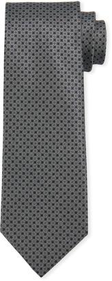 Brioni Men's Medium Neat Silk Tie