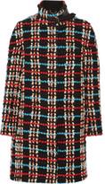 Chloé Wool-blend bouclé coat