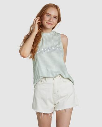 Apero Label - Women's Singlets - La Petite Stripe Tank - Size One Size, XS at The Iconic