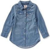 Levi's s Little Girls 2T-6X Denim Western Dress