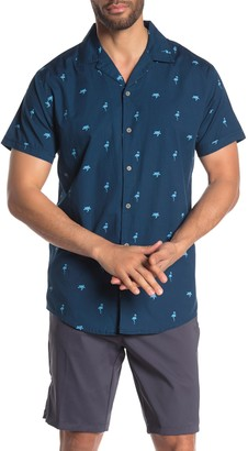 Trunks Surf And Swim Co. Printed Short Sleeve Relaxed Fit Shirt