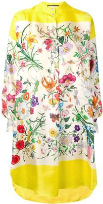 Gucci Flora shirt dress