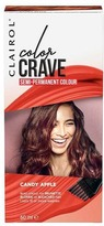 Clairol Color Crave Semi Permanent Hair Colour 60ml Candy Apple