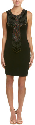 Haute Hippie Apache Embellished Sheath Dress