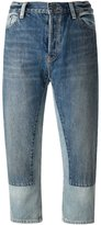 Marc by Marc Jacobs wide leg cropped jeans