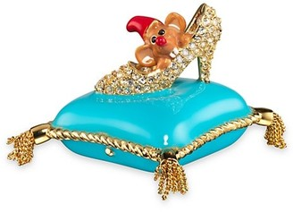 Estee Lauder x Disney Beautiful A Dream Is A Wish Your Heart Makes Perfume Compact By Monica Rich Kosann