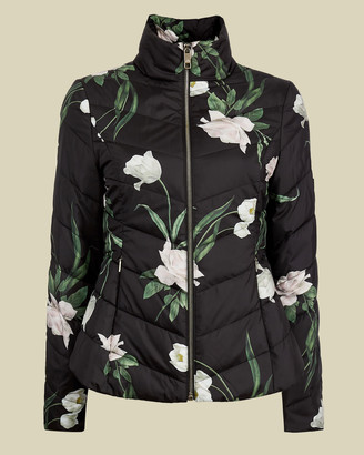 Ted Baker ADAENA Elderflower padded packaway jacket